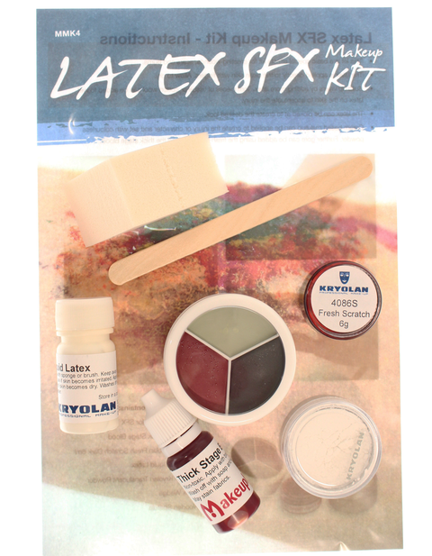 Latex special effects makeup kit for halloween