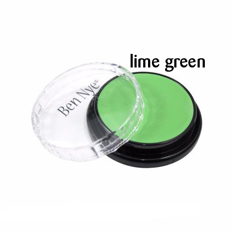 Ben Nye Creme Colors for Face and Body Painting in Lime Green