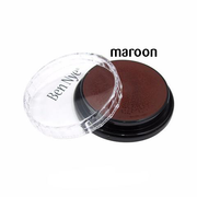 Ben Nye Creme Colors for Face and Body Painting in Maroon