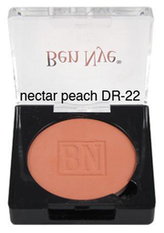 Ben Nye Dry Rouge and Contour in Nectar Peach