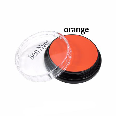 Ben Nye Creme Colors for Face and Body Painting in Orange