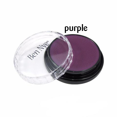 Ben Nye Creme Colors for Face and Body Painting in Purple
