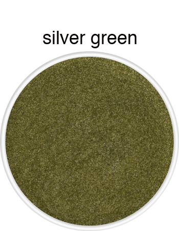 supracolour metallic face paint in silver green