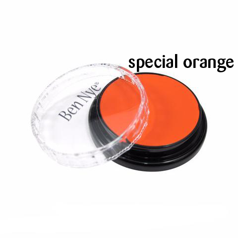 Ben Nye Creme Colors for Face and Body Painting in Special Orange