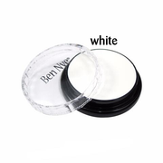 Ben Nye Creme Colors for Face and Body Painting in White