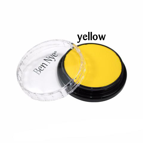 Ben Nye Creme Colors for Face and Body Painting in Yellow