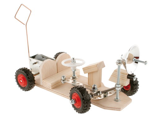 Moon Buggy with Clockwork Motor
