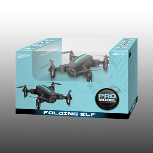 2.4G Mini Foldable Drone with 1.0M WIFI Camera