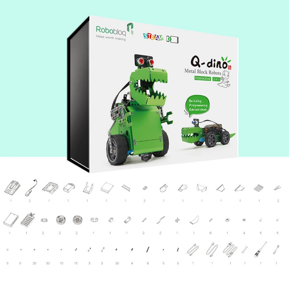 Q-Dino Antique Robot kit