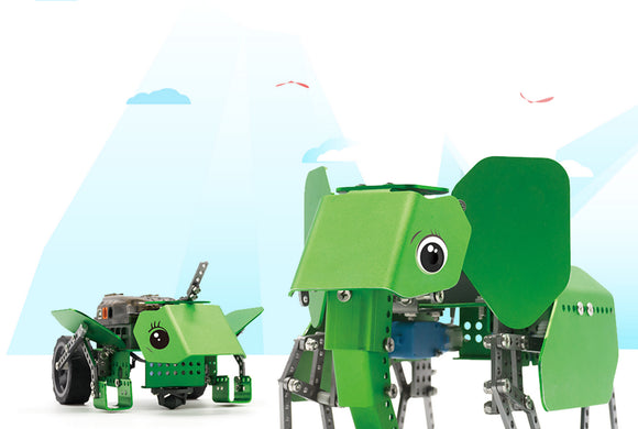 Q-Elephants: Best mechanical programmed robot for children 8 years
