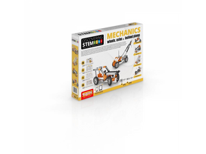 Engino STEM Mechanics: Wheels, Axles & Inclined planes (STEM02)