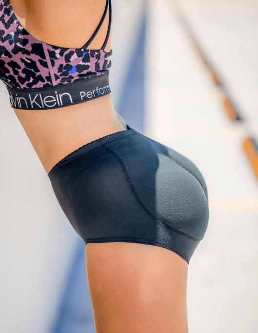 Core Trainer Booty Shorts Push Up Silicone Butt Pants