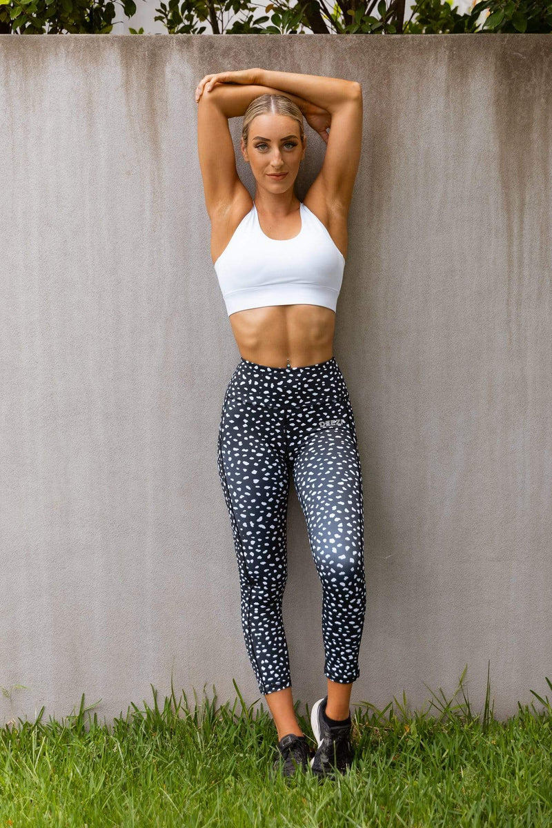 Deezi Active Leggings Deezi Active BFF Leggings - Spotty Spice