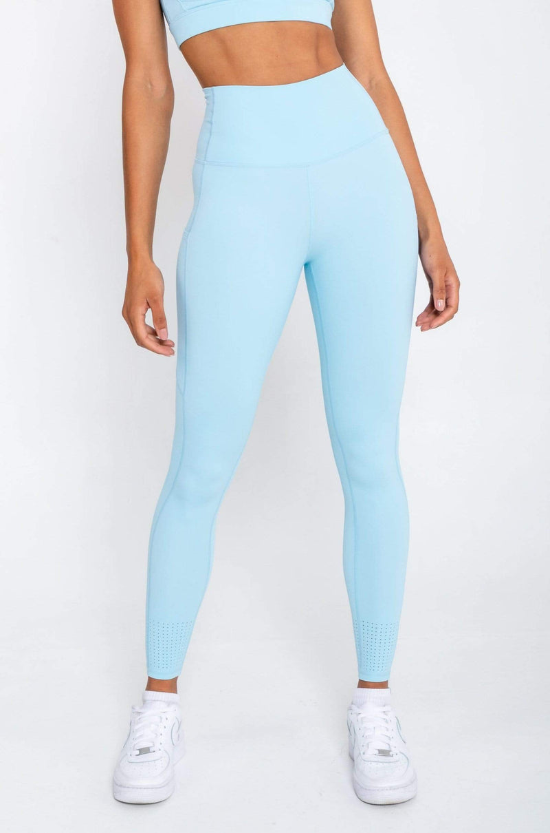 Evolve Apparel Active Leggings - Pastel Blue