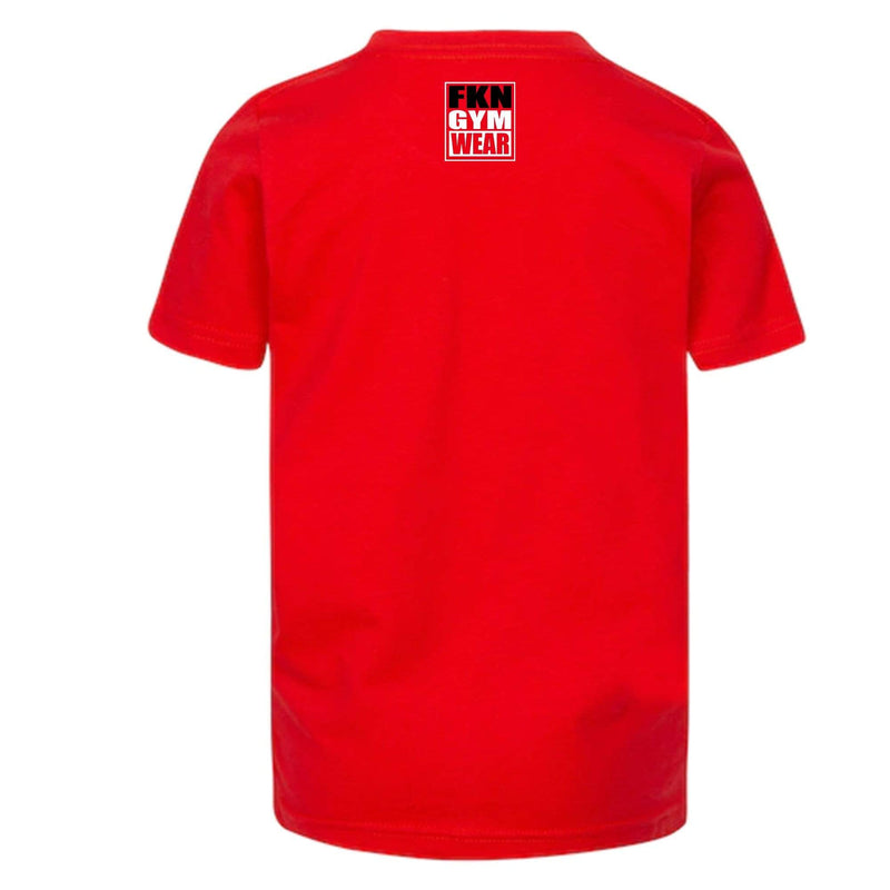 FKN Gym Wear Mens T-Shirt Men's Gym T-Shirt | FKNBOSS | Red