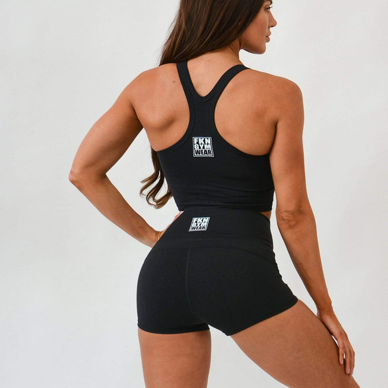 FKN Gym Wear Crop Singlet WOMEN'S GYM SINGLET | CROPPED