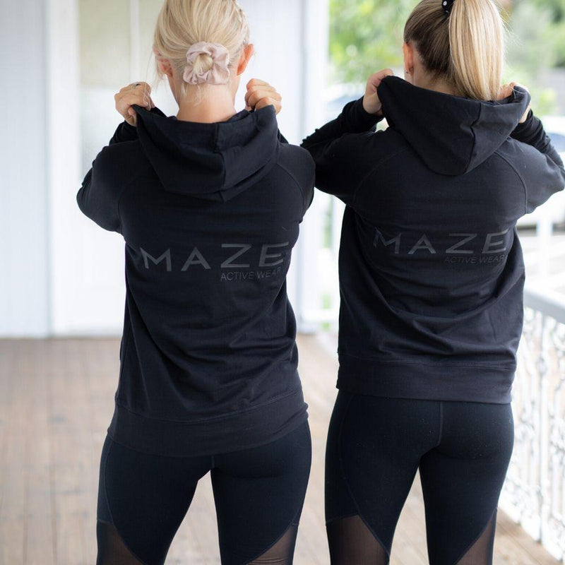 Maze Activewear Nursing Tops Maternity & Nursing Hoodie