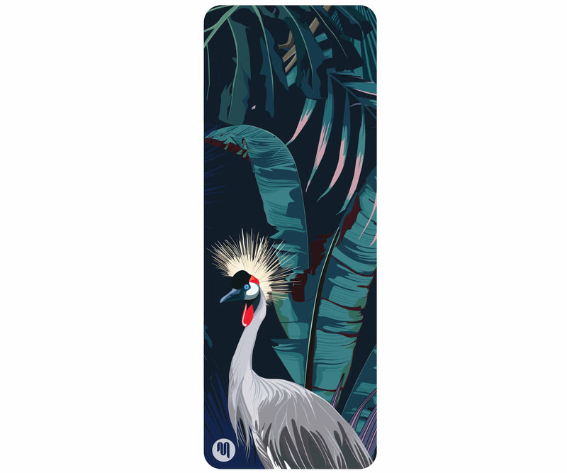 MoveActive Yoga Mat Luxe Eco Yoga Mat - Bird of Paradise -PRE ORDER NOW AVAILABLE