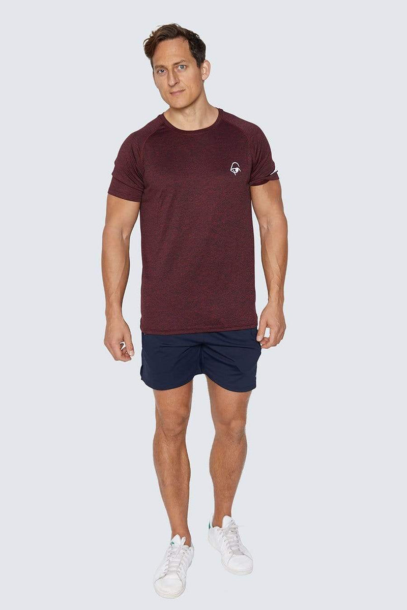 Newtype T-Shirts All Day Every Day Tee Maroon