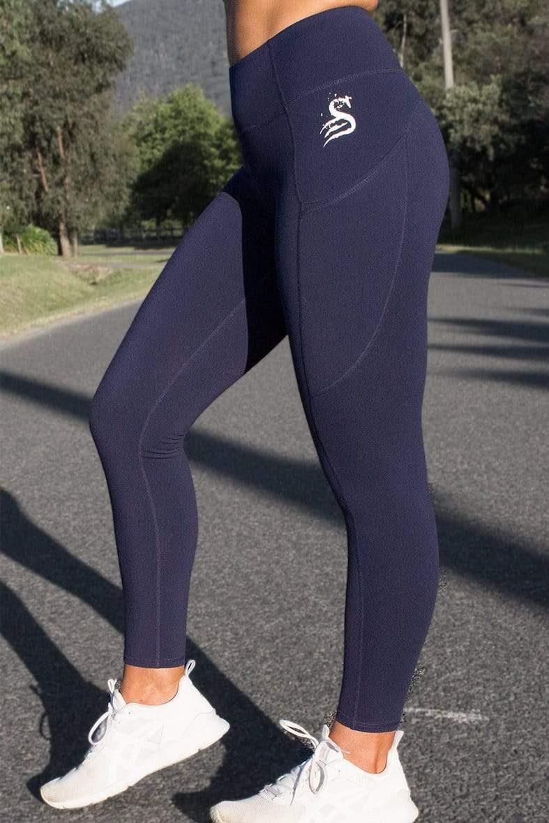 Stay Shredded Obsession Pocket Legging 7/8 - NAVY