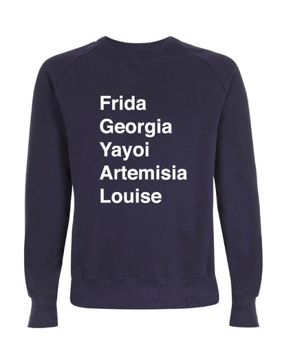 Organic Navy Frida Sweater