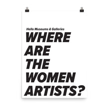 Where Are The Women? Poster
