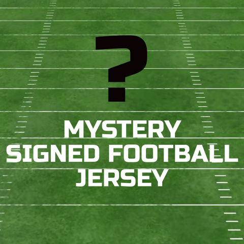 Mystery Signed Football Jersey Grab Bag