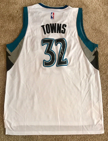 Karl Anthony Towns Signed Minnesota Timberwolves Jersey (COA) ALL STAR - Top Notch Signatures LLC