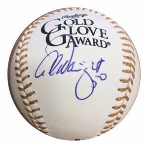 Adam Wainwright Authentic Signed Gold Glove Baseball - Cardinals WS CHAMP - Top Notch Signatures LLC