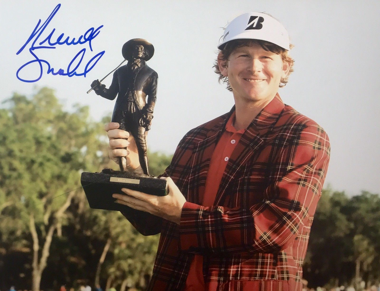 Brandt Snedeker Authentic Signed 8x10 - PGA TOUR ROOKIE OF THE YEAR - Top Notch Signatures LLC