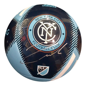 Andrea Pirlo Authentic Signed NYC FC Soccer Ball - MILAN WORLD CUP - Top Notch Signatures LLC