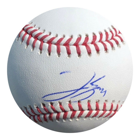 George Springer Authentic Signed MLB Baseball (JSA COA) Houston Astros WS MVP - Top Notch Signatures LLC