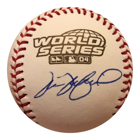 Tim Wakefield Authentic Signed 2004 World Series Baseball (COA) Boston Red Sox