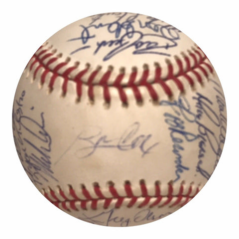 1991 Atlanta Braves Team Signed Baseball - Glavine,Smoltz,Deion Sanders - Top Notch Signatures LLC