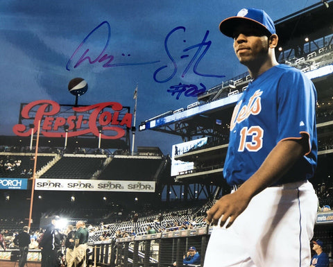Dominic Smith Authentic Autographed Signed 8x10 Photo - New York Mets - Top Notch Signatures LLC