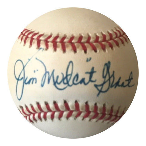 "Jim ""Mudcat"" Grant Authentic Signed MLB Baseball - Cleveland Indians - Top Notch Signatures LLC"