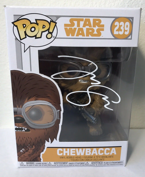 "Joonas Suotamo ""Chewbacca"" Authentic Signed Funko Pop - STAR WARS - Top Notch Signatures LLC"