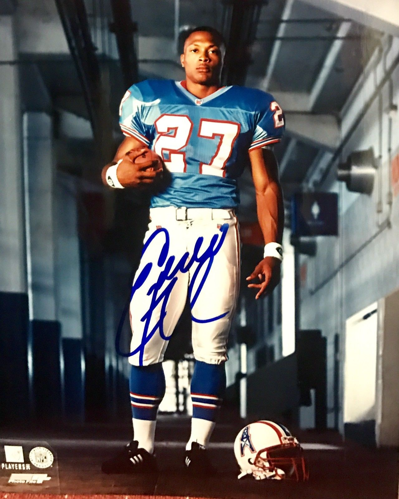 Eddie George Authentic Signed 8x10 Photo - OHIO STATE HEISMAN PRO BOWL - Top Notch Signatures LLC