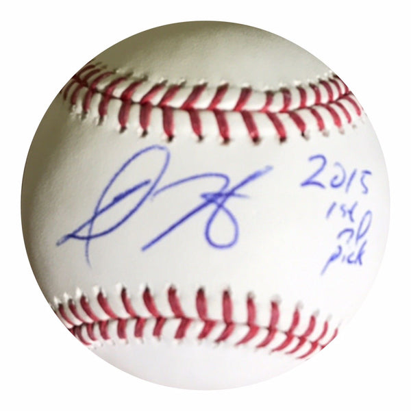 Dillion Tate Authentic Signed MLB Baseball - Baltimore Orioles Top Prospect - Top Notch Signatures LLC