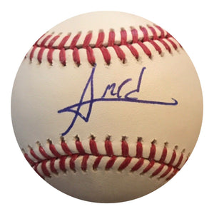 Amed Rosario authentic Signed MLB Baseball - NEW YORK METS - Top Notch Signatures LLC
