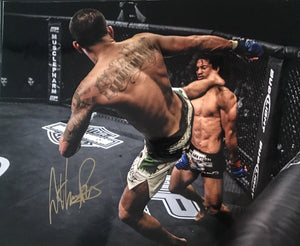 Anthony Pettis Authentic Signed 16x20 -UFC LIGHTWEIGHT CHAMPION - Top Notch Signatures LLC