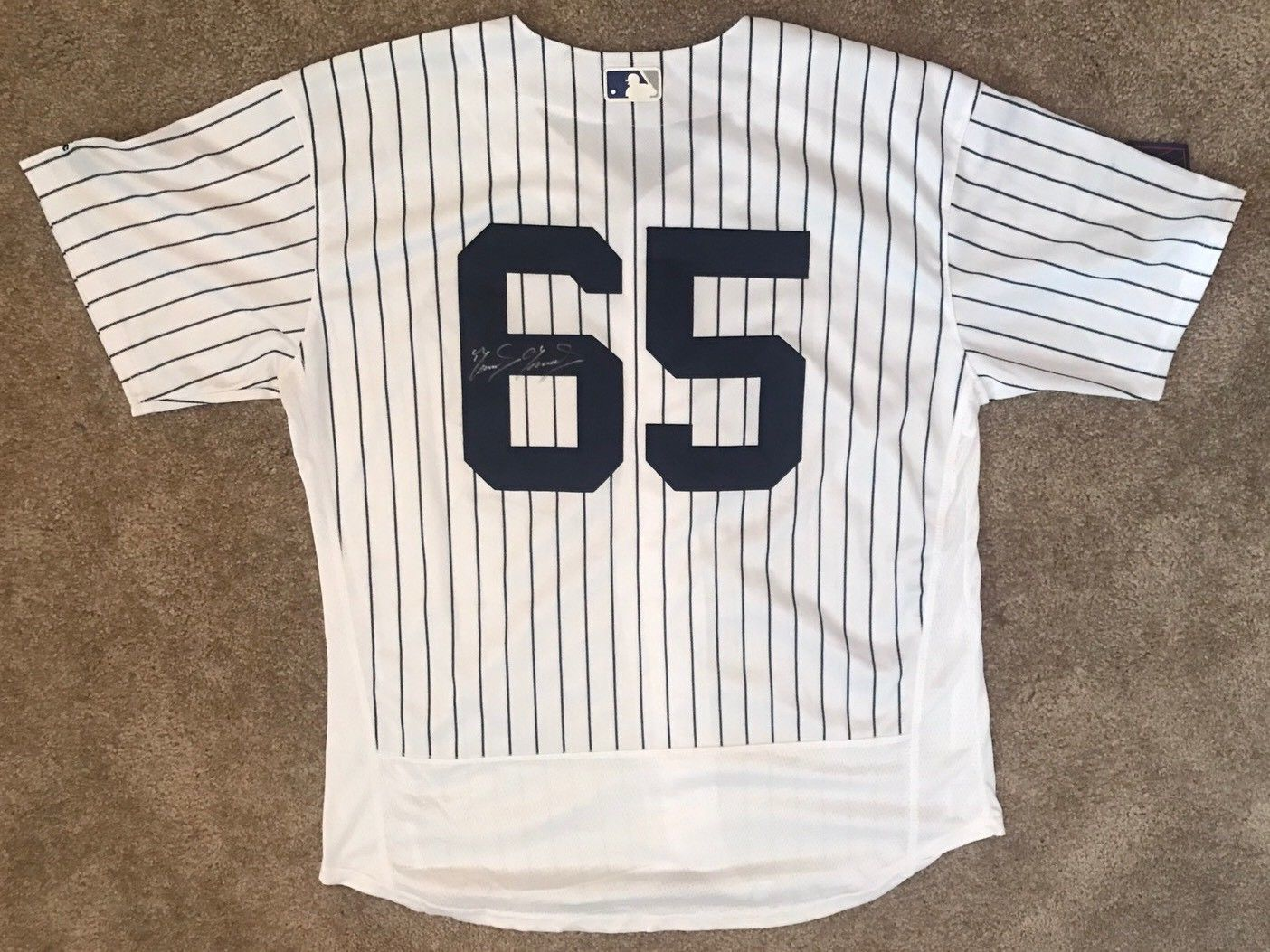 new concept 9cc25 a087c Domingo German Signed New York Yankees Jersey - Future Phenom