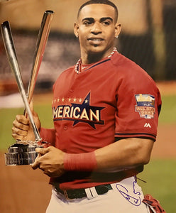 Yoenis Cespedes Authentic Signed 11x14 Photo (COA) New York Mets All Star
