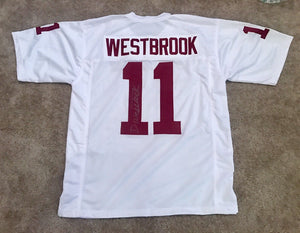 Dede Westbrook Signed Oklahoma Sooners White Jersey - Jacksonville Jaguars - Top Notch Signatures LLC