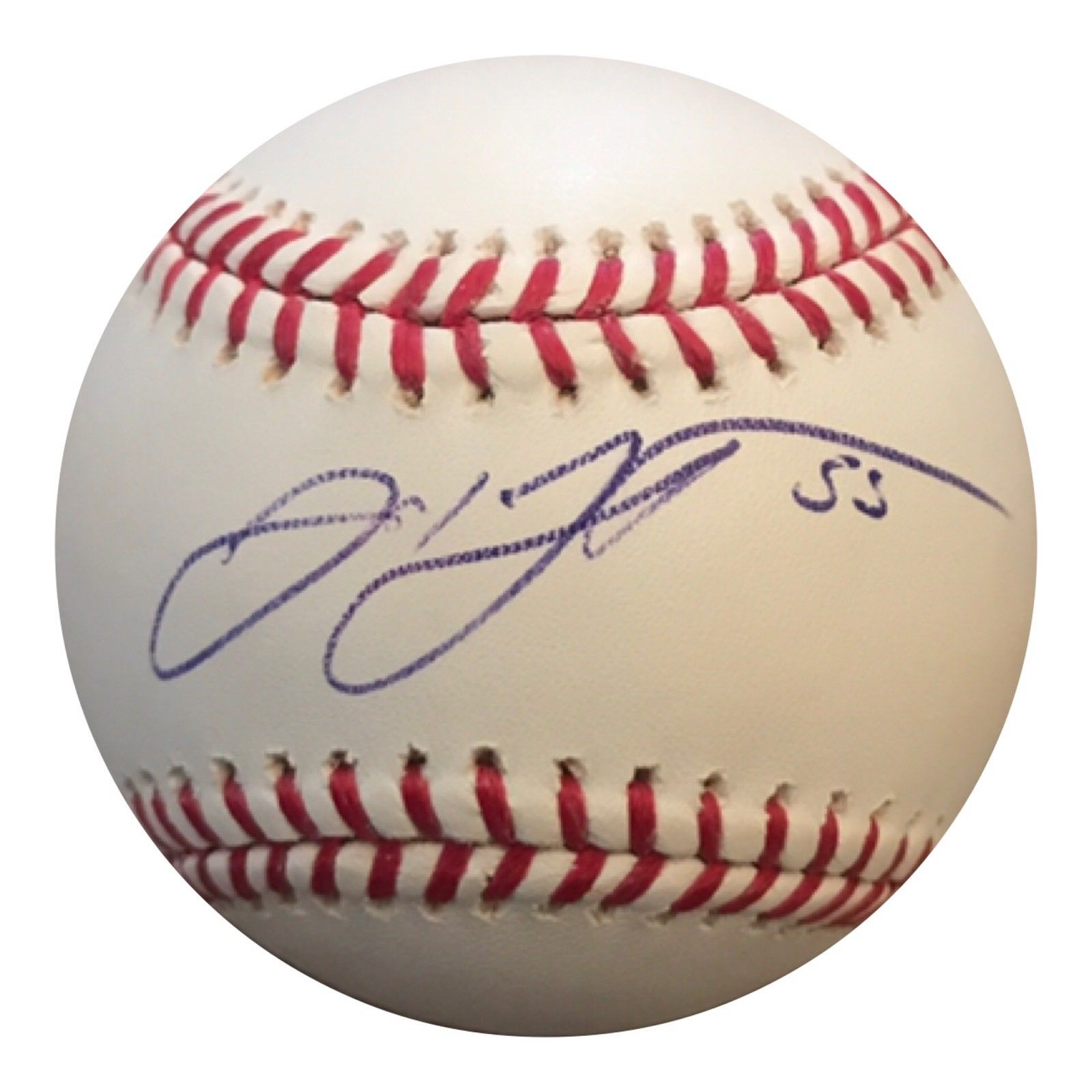 Josh Johnson Authentic Signed MLB Baseball (COA) MIAMI MARLINS ALL STAR - Top Notch Signatures LLC