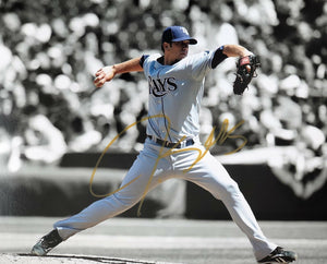 James Shields Authentic Signed 8x10 Photo - Tampa Bay Rays All Star - Top Notch Signatures LLC