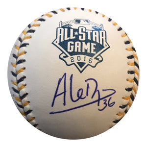 Aledmys Diaz Authentic Signed 2016 All Star Game Baseball TORONTO BLUE JAYS - Top Notch Signatures LLC
