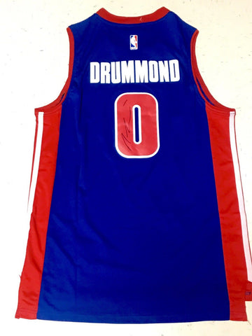 Andre Drummond Signed Detroit Pistons Jersey - NBA ALL STAR - Top Notch Signatures LLC