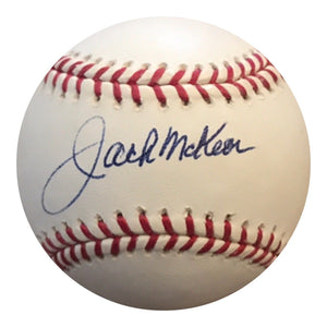 Jack McKeon Authentic Signed MLB Baseball - MIAMI MARLINS WS CHAMP - Top Notch Signatures LLC