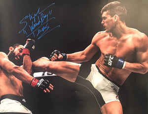 "Stephen ""Wonderboy"" Thompson Authentic Signed 16x20 (COA) UFC"